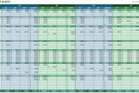 12 Free Marketing Budget Templates with measurements 1786 X 912