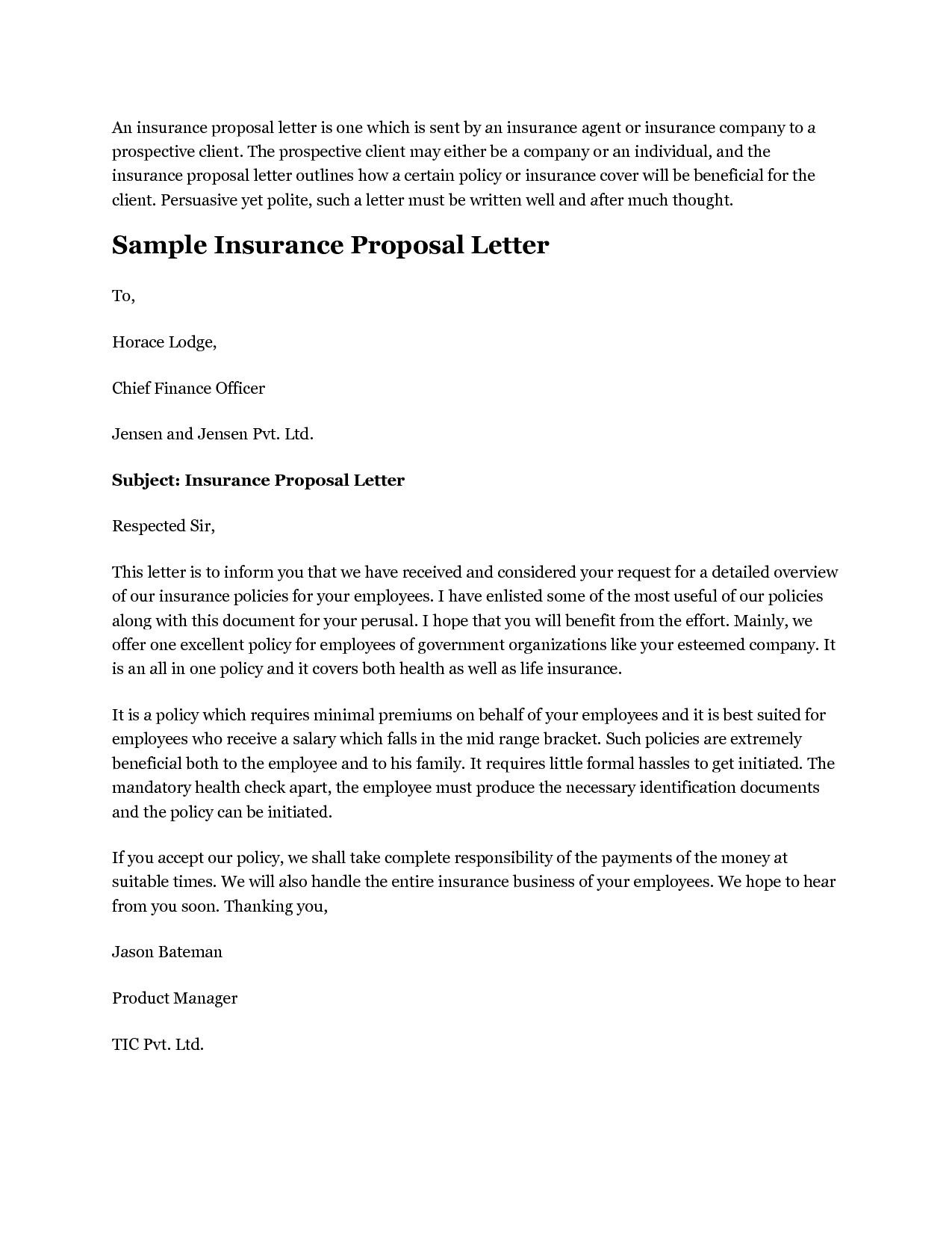 7 Best Images Of Insurance Proposal Template Insurance Proposal inside size 1275 X 1650