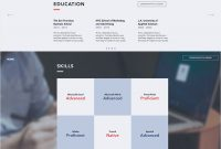 7 Polished Resume Website Templates For All Professionals with regard to dimensions 925 X 1500