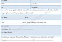 Car Dealer Bill Of Sale Form Bill Of Sale Forms Pinterest Cars with regard to dimensions 900 X 1492