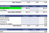 Free Download Bi Weekly Personal Budget Excel Spreadsheet 8 with sizing 728 X 1227