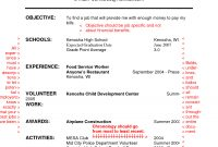 Resume Examples For High School Students 1 Resume Examples throughout dimensions 1275 X 1650