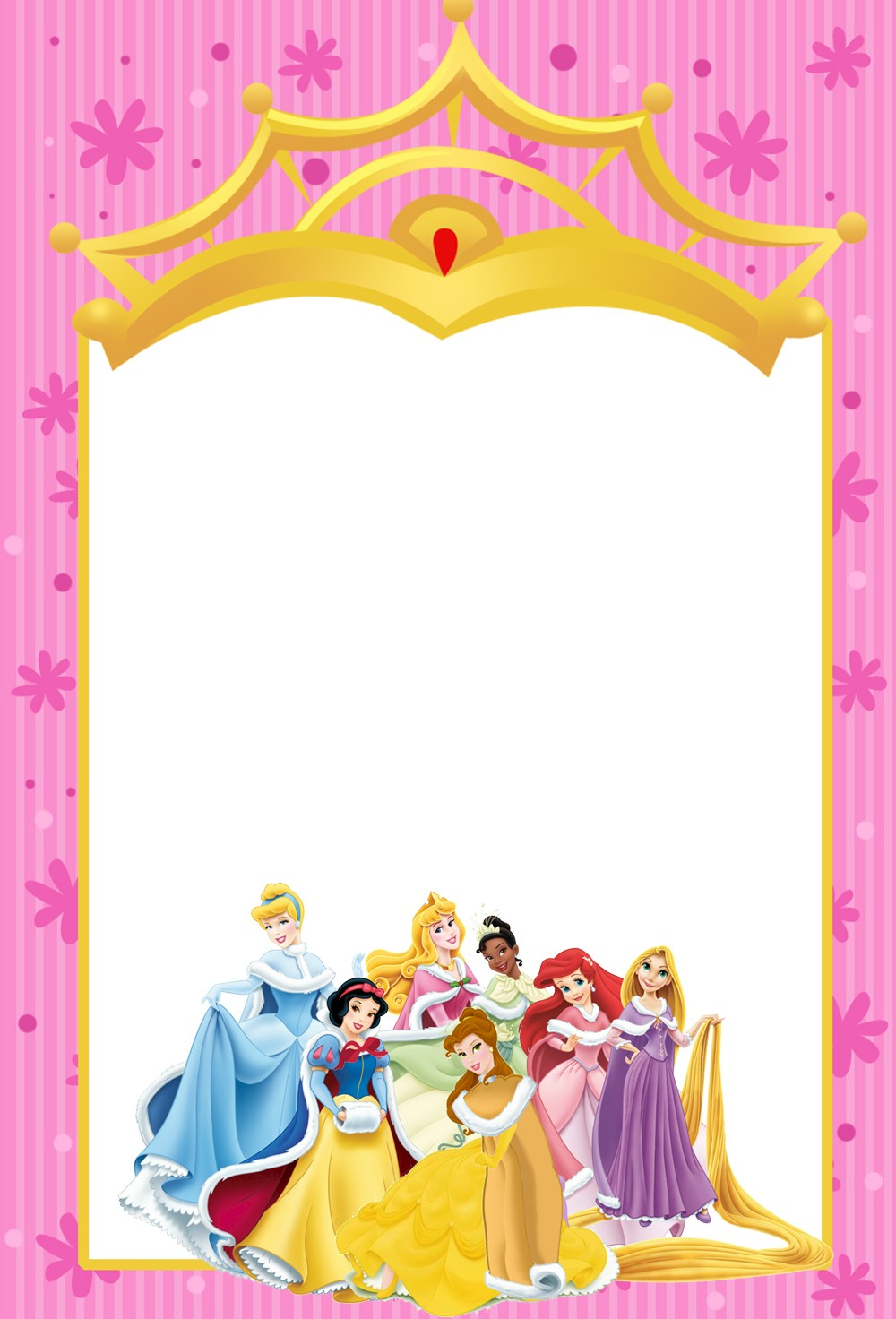 004 Disney Princess Party Invitations For Best Results And Winsome intended for sizing 1000 X 1472