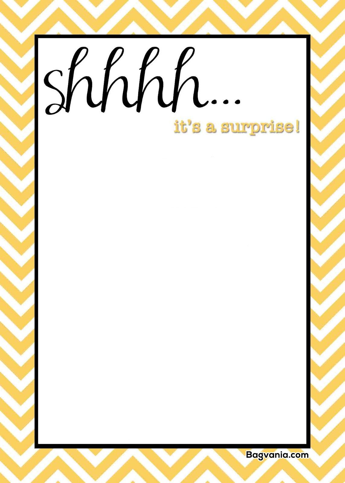 004 Surprise Party Invites Templates Template Ideas Remarkable 50th in dimensions 1143 X 1600