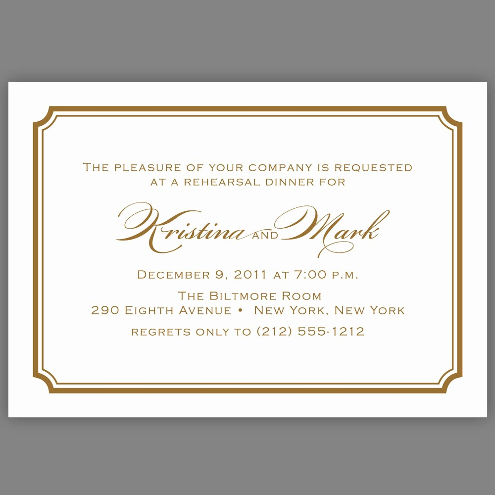 10 Best Of Dinner Invitation Template Formal for measurements 1000 X 1000
