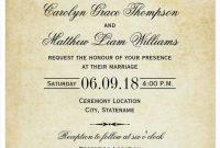 31 Elegant Wedding Invitation Templates Free Sample Example within size 788 X 1087