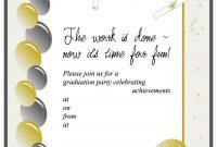 40 Free Graduation Invitation Templates Template Lab for size 900 X 1165
