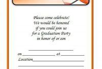 40 Free Graduation Invitation Templates Template Lab pertaining to sizing 900 X 1221