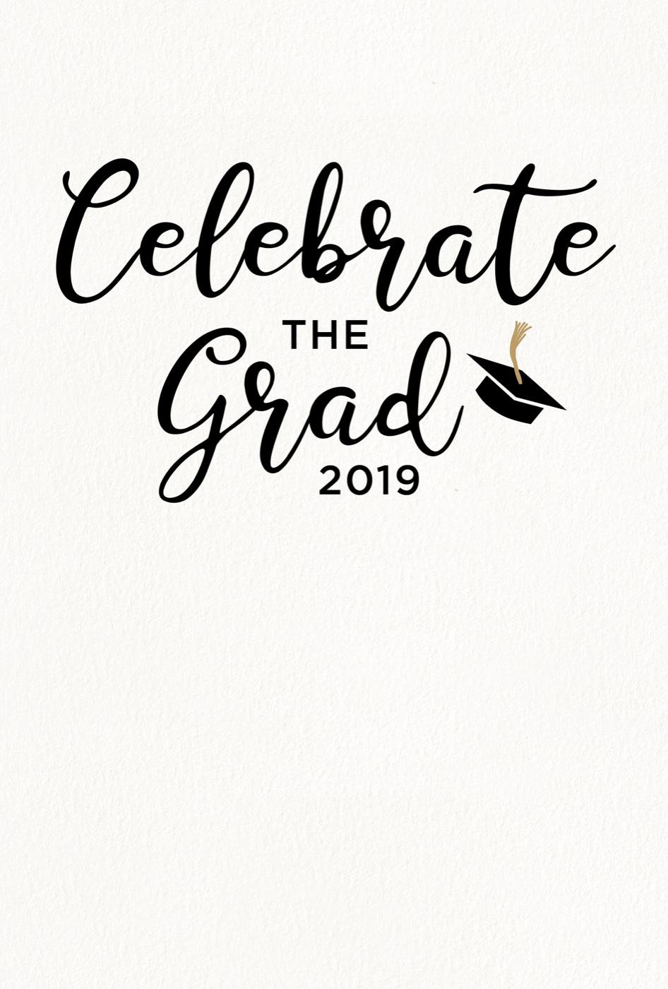 5 Editable Graduation Party Invitation Templates Tips Shutterfly throughout dimensions 946 X 1400