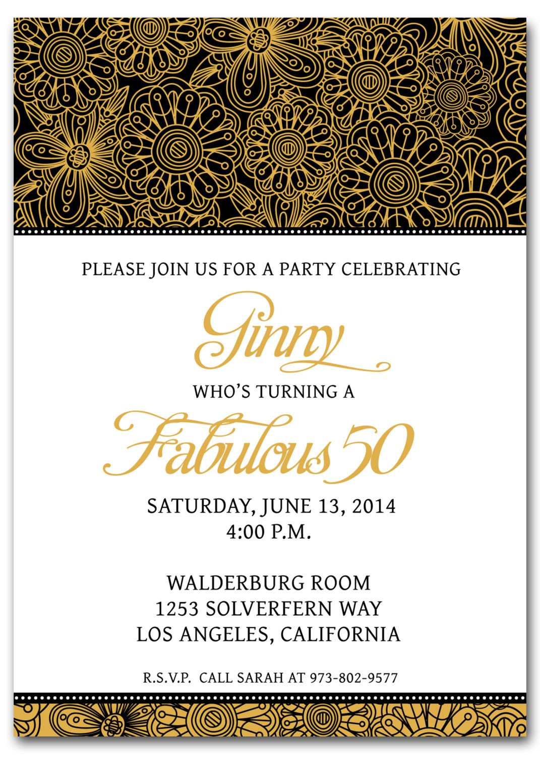 50th Birthday Invitation Templates Free Printable My Birthday In regarding proportions 1071 X 1500