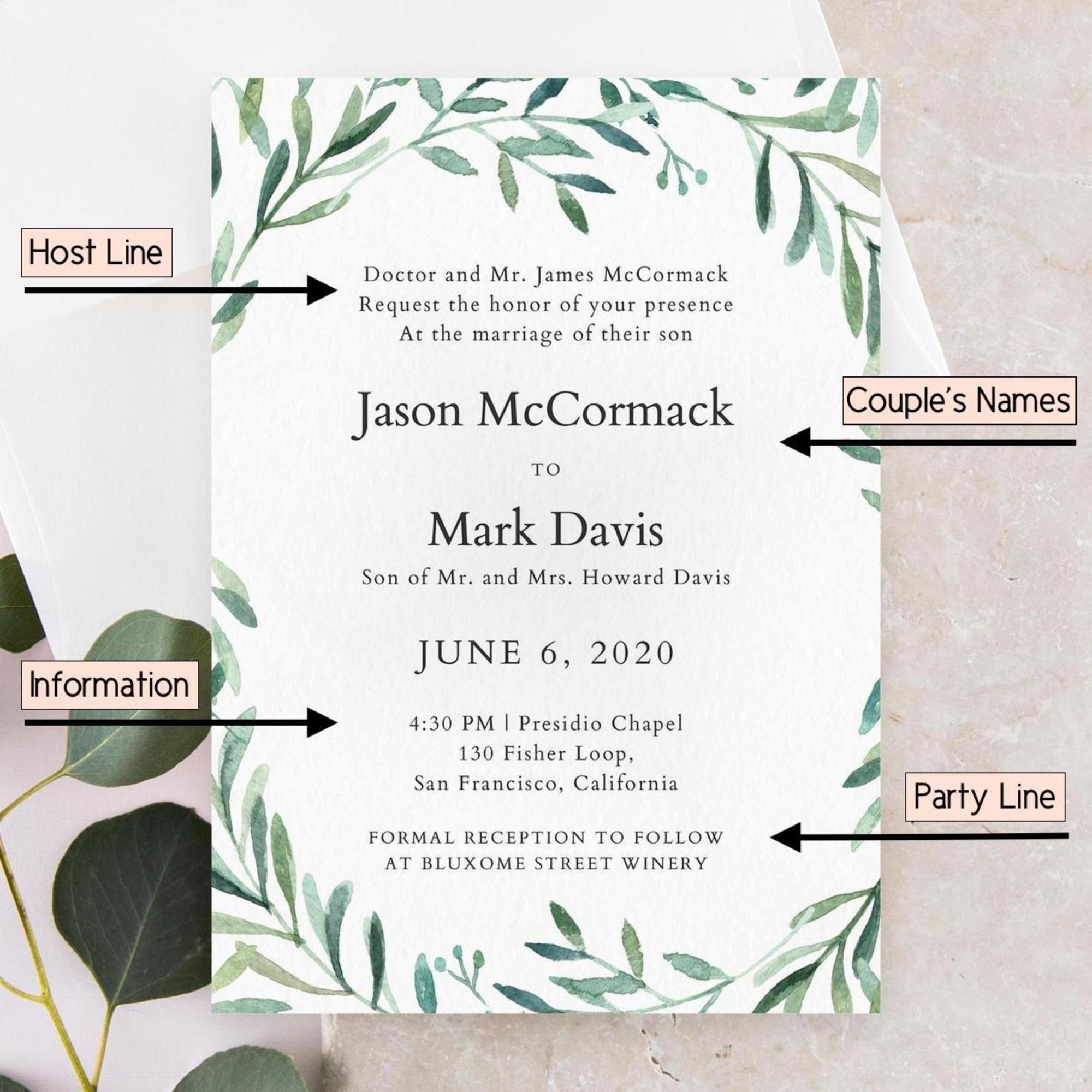 57 Create Amazing Word Wedding Invitation Template Examples With regarding measurements 2000 X 2000