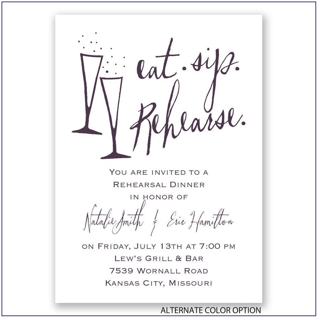 84 Special Rehearsal Dinner Invitation Example Editable For in size 1015 X 1015