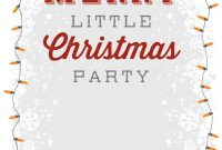 A Merry Little Party Free Printable Christmas Invitation Template regarding dimensions 1080 X 1560