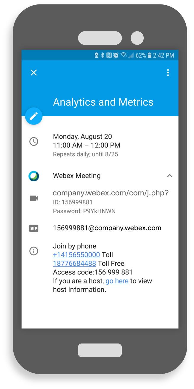 webex invitation template  u2022 business template ideas