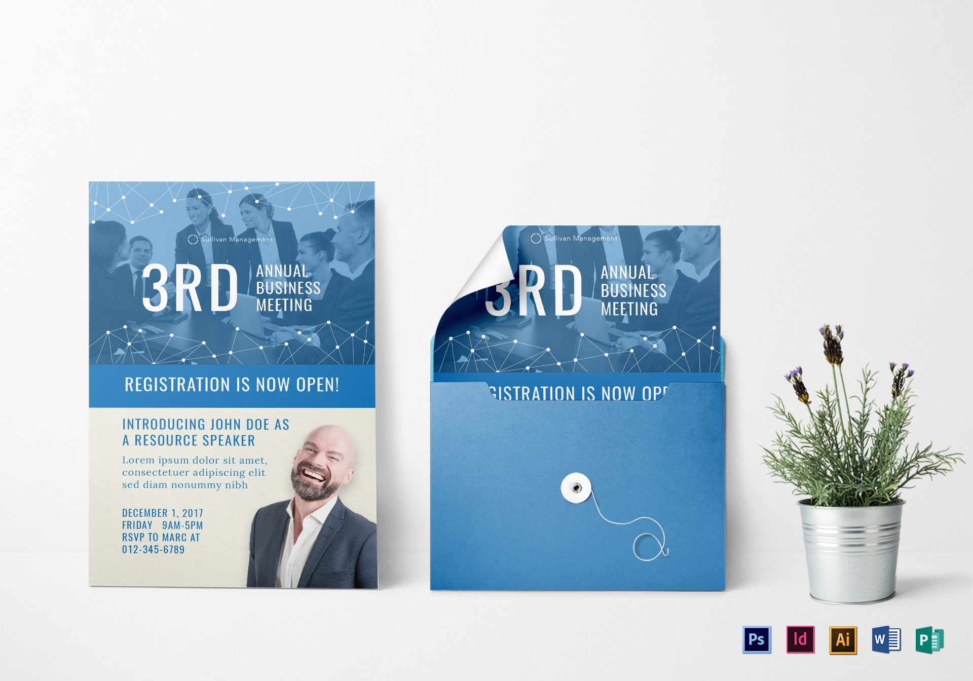 Business Meeting Invitation Templates • Business Template