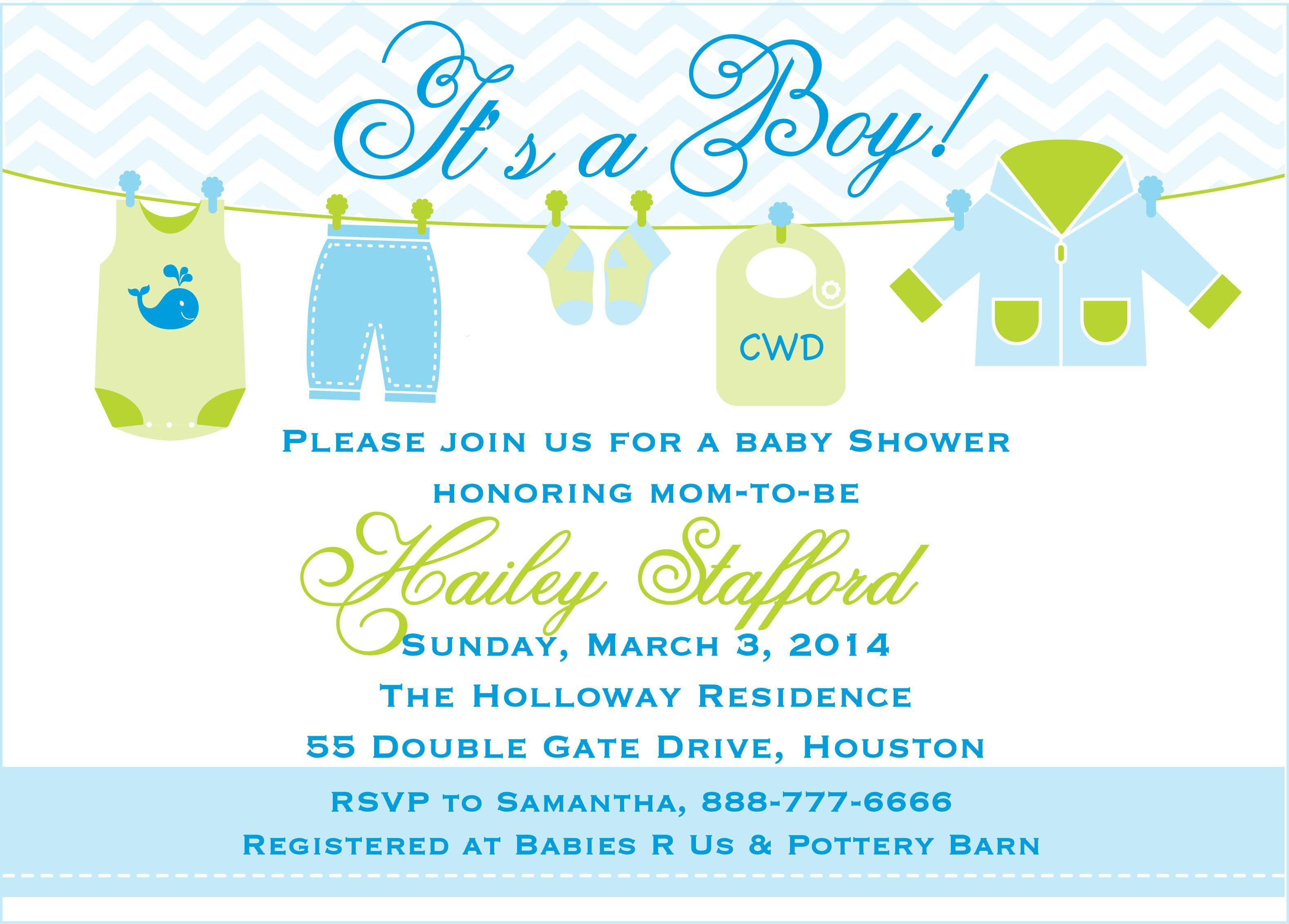 Ba Boy Shower Invitations Templates Free Ba Shower In 2019 throughout sizing 3156 X 2264
