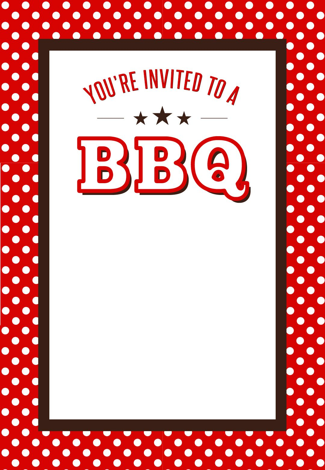 It is a graphic of Free Printable Cookout Invitations in july potluck invitation