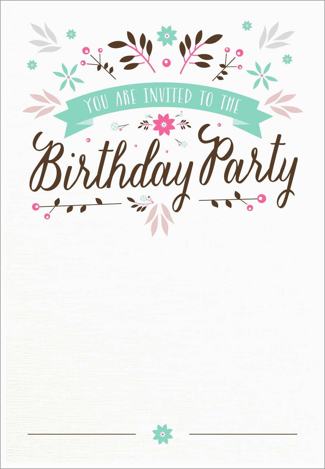 Beautiful 21st Birthday Card Templates Free Best Of Template intended for proportions 1080 X 1560