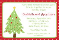 Free Invitations Templates Free Free Christmas Invitation pertaining to size 1500 X 1071