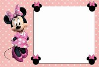 Free Online Minnie Mouse Invitation Template Frd Like In 2019 intended for proportions 1200 X 800