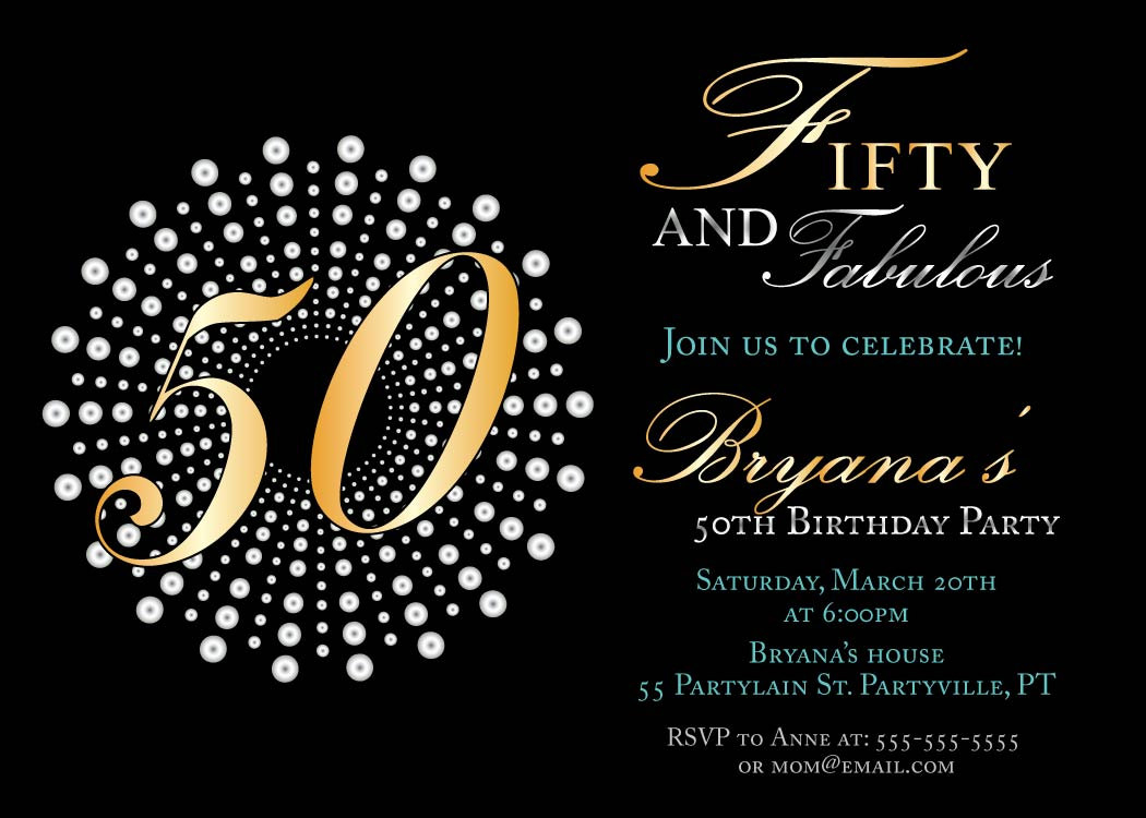 Free Printable 50th Birthday Invitations Templates Birthday in proportions 1050 X 750