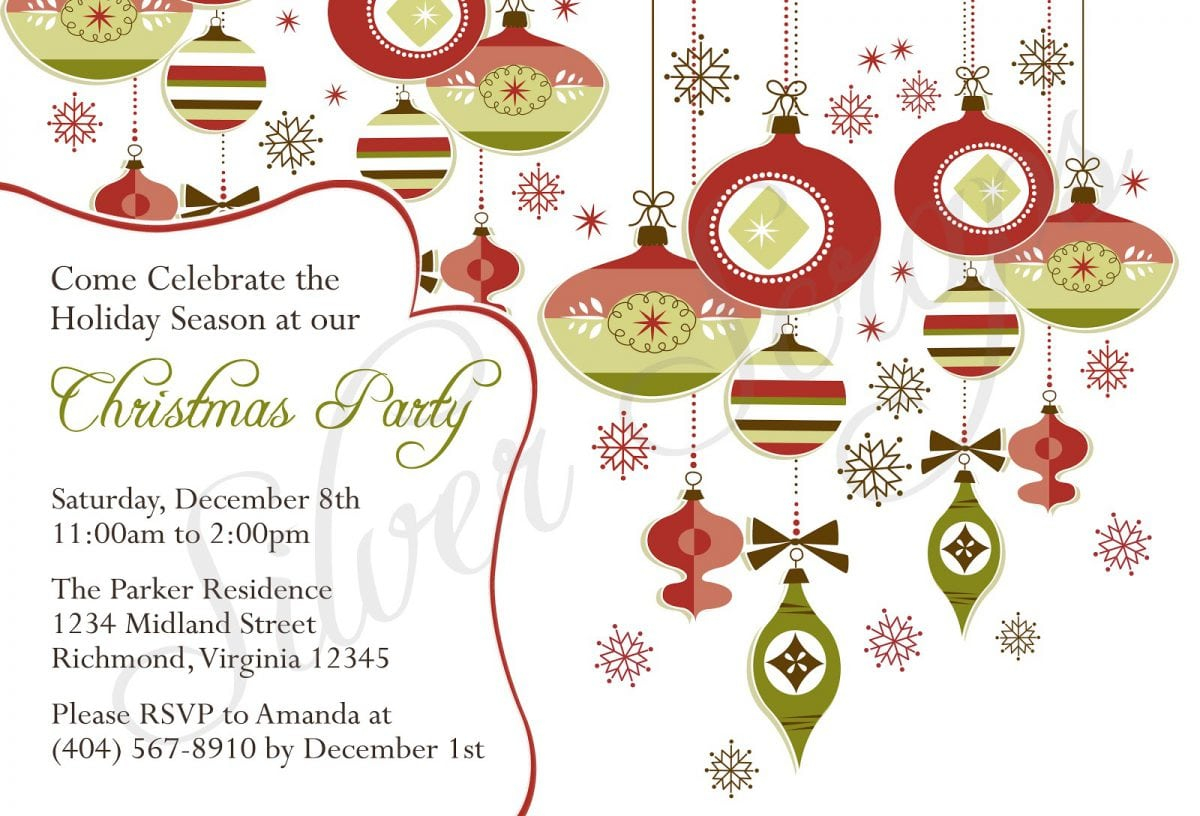 Free Printable Church Christmas Invitations Template throughout size 1200 X 816