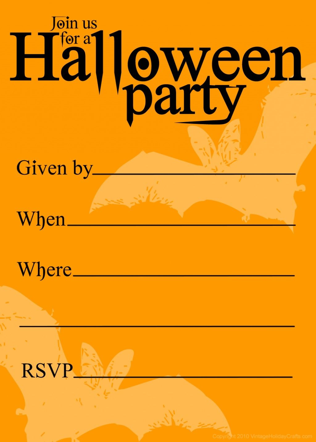 Free Printable Halloween Birthday Invitations Templates Halloween intended for sizing 1024 X 1434