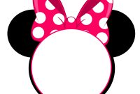Free Printable Minnie Mouse Pinky Birthday Invitation Free for sizing 3600 X 3344