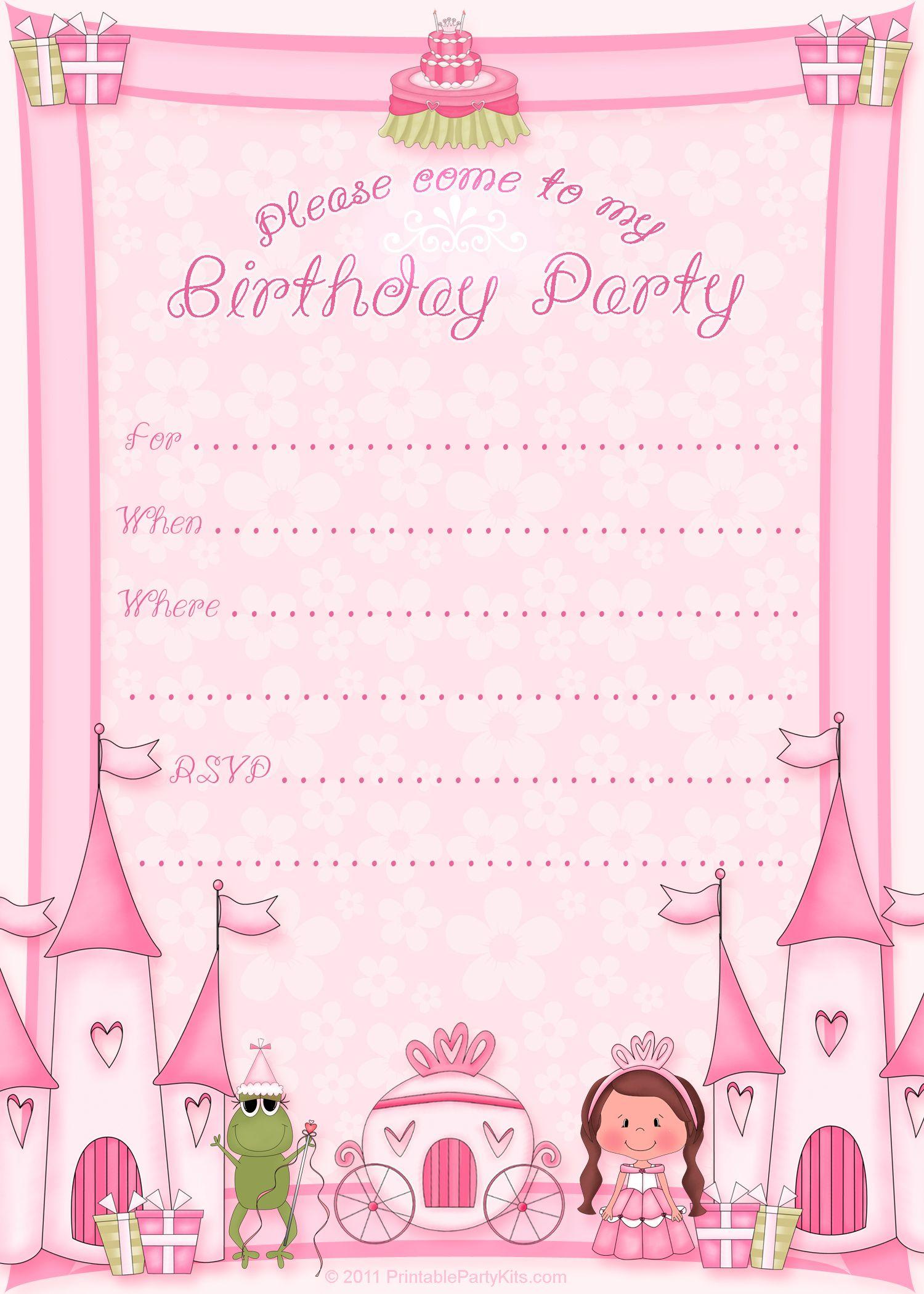 Free Printable Princess Birthday Invitation Template Cupcake pertaining to dimensions 1500 X 2100