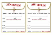 Free Printable Surprise Birthday Party Invitations Templates Party inside sizing 1100 X 850