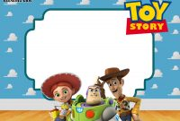 Free Printable Toy Story 3 Birthday Invitations Free Printable intended for measurements 2100 X 1500
