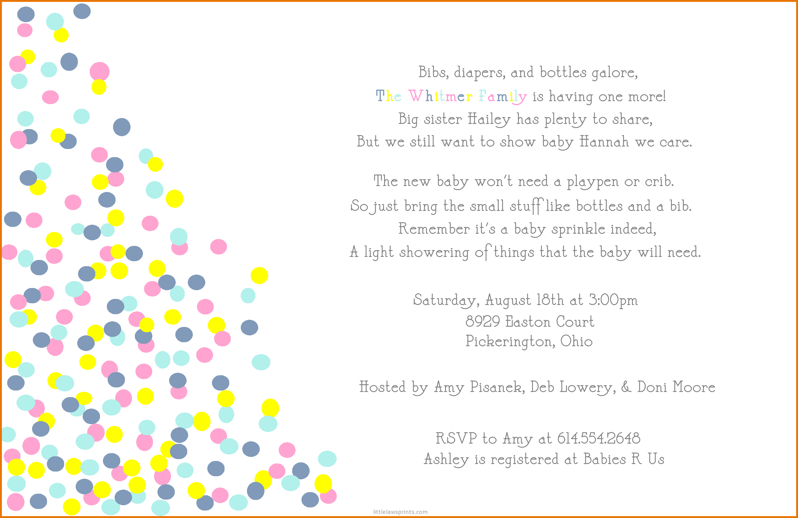 Full Size Of Designsba Shower Email Invitations Uk Plus Ba within measurements 2562 X 1662