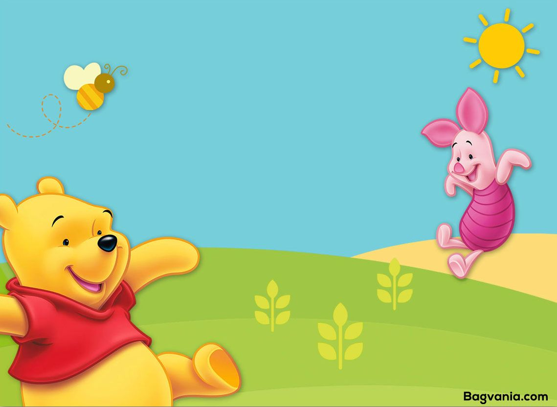 Get Free Printable Winnie The Pooh Birthday Invitation Wording throughout proportions 1139 X 833