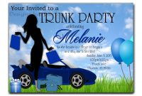 How To Select The Trunk Party Invitations Templates Designs with regard to dimensions 1500 X 1125
