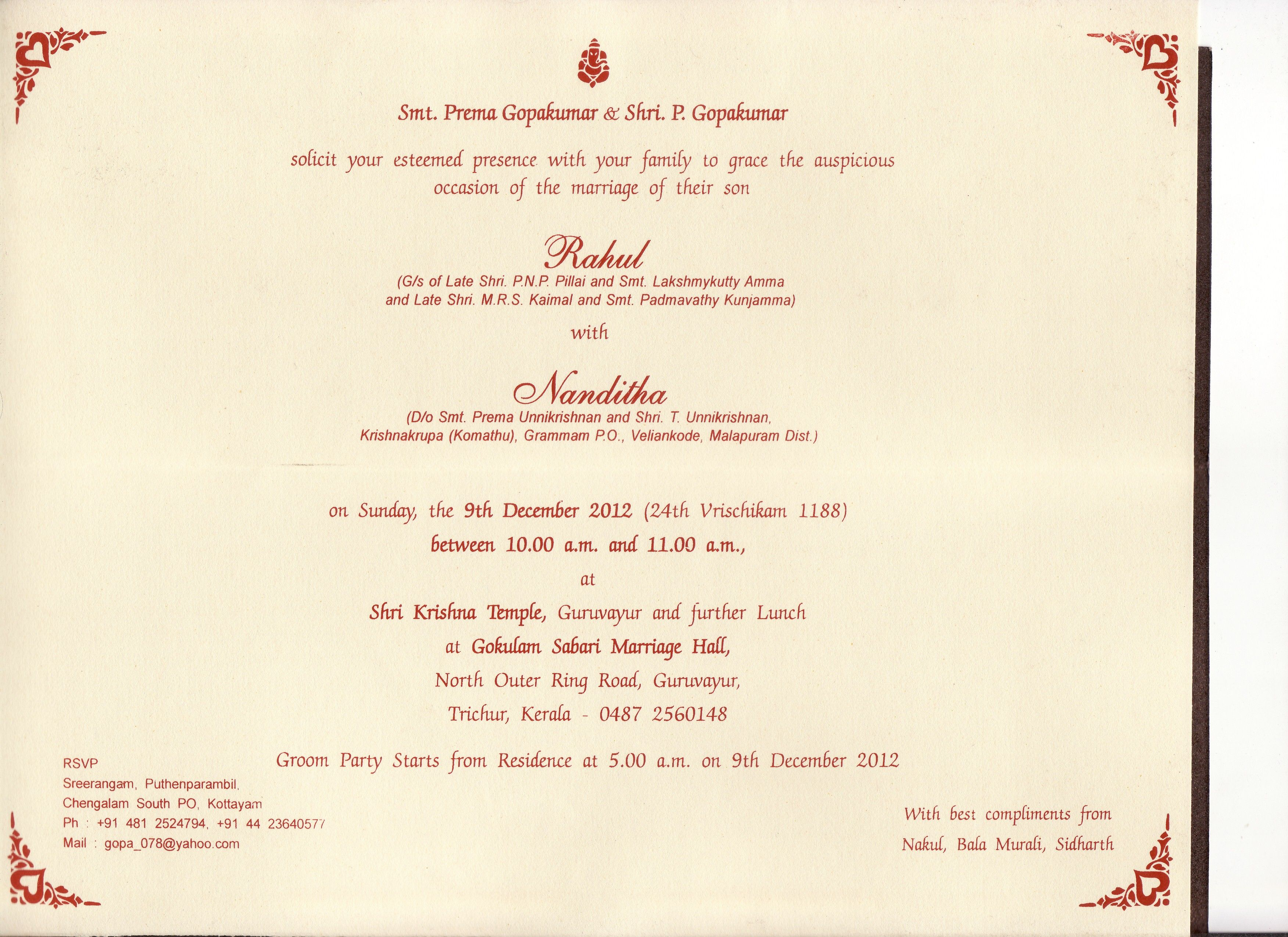 Image Search Wedding Invitation Letter Format Kerala Kausal In within sizing 3504 X 2548