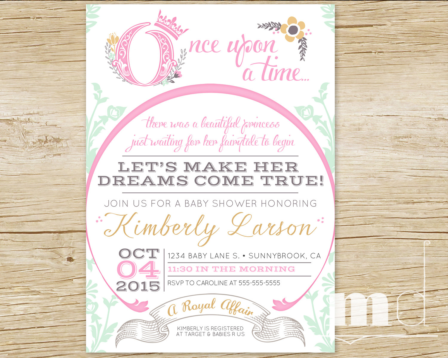 Inspirational Once Upon A Time Ba Shower Invitations For Once Upon within size 1500 X 1200