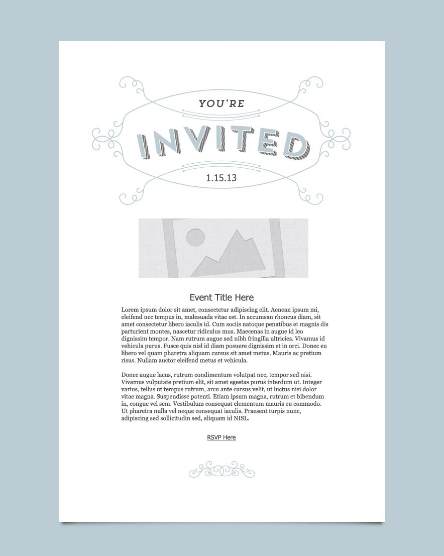 Invitation Email Marketing Templates Invitation Email Templates inside measurements 884 X 1107