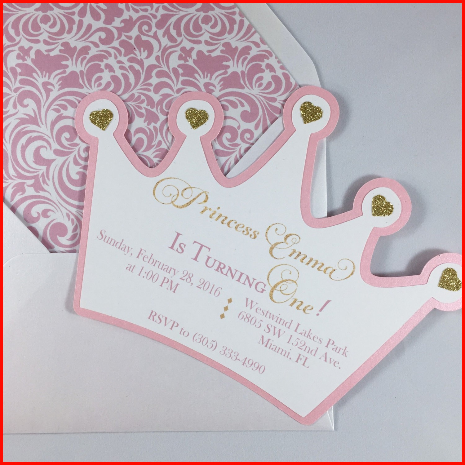 Lovely Princess Crown Invitation Template Photos Of Invitation within proportions 1500 X 1500