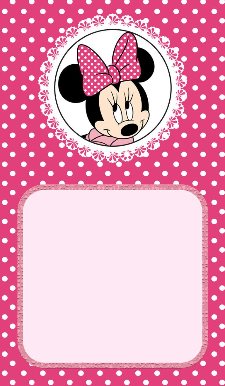Minnie Mouse Birthday Invitation Invitation Ideas For Parties within size 768 X 1314