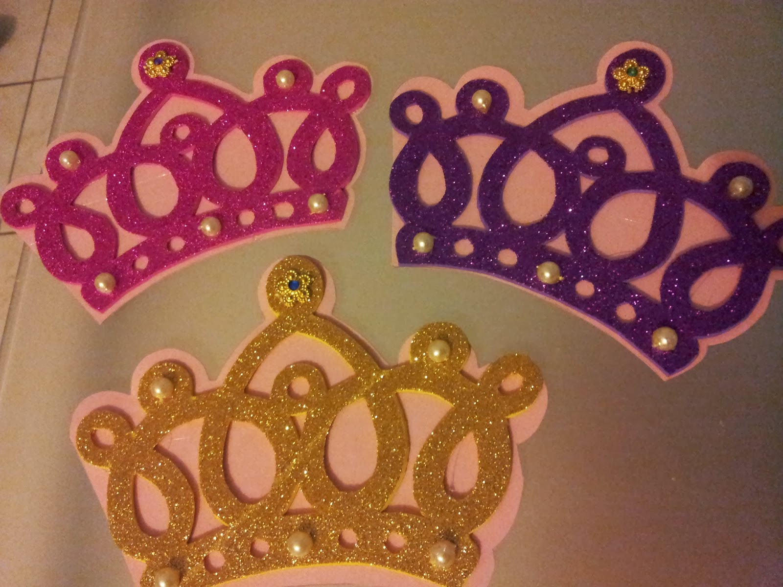 Princess Crown Invitation Template intended for dimensions 1600 X 1200