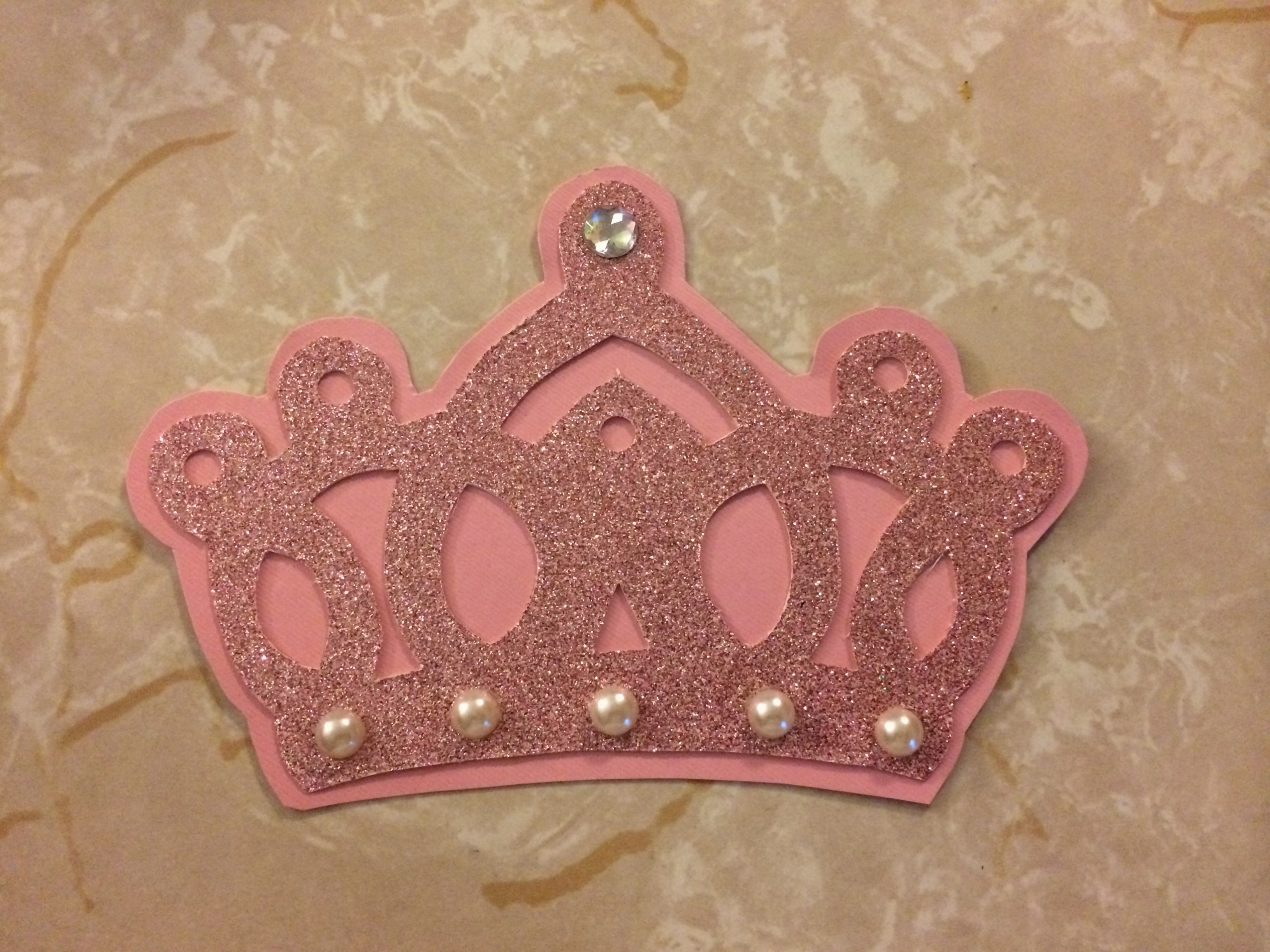 Princess Crown Invitation Template with regard to dimensions 3263 X 2447
