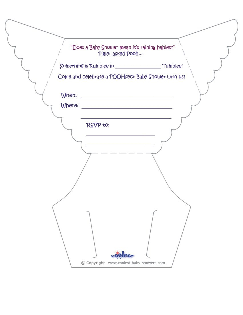 Printable Pooh Diaper Invitations Coolest Free Printables Diy in dimensions 850 X 1100