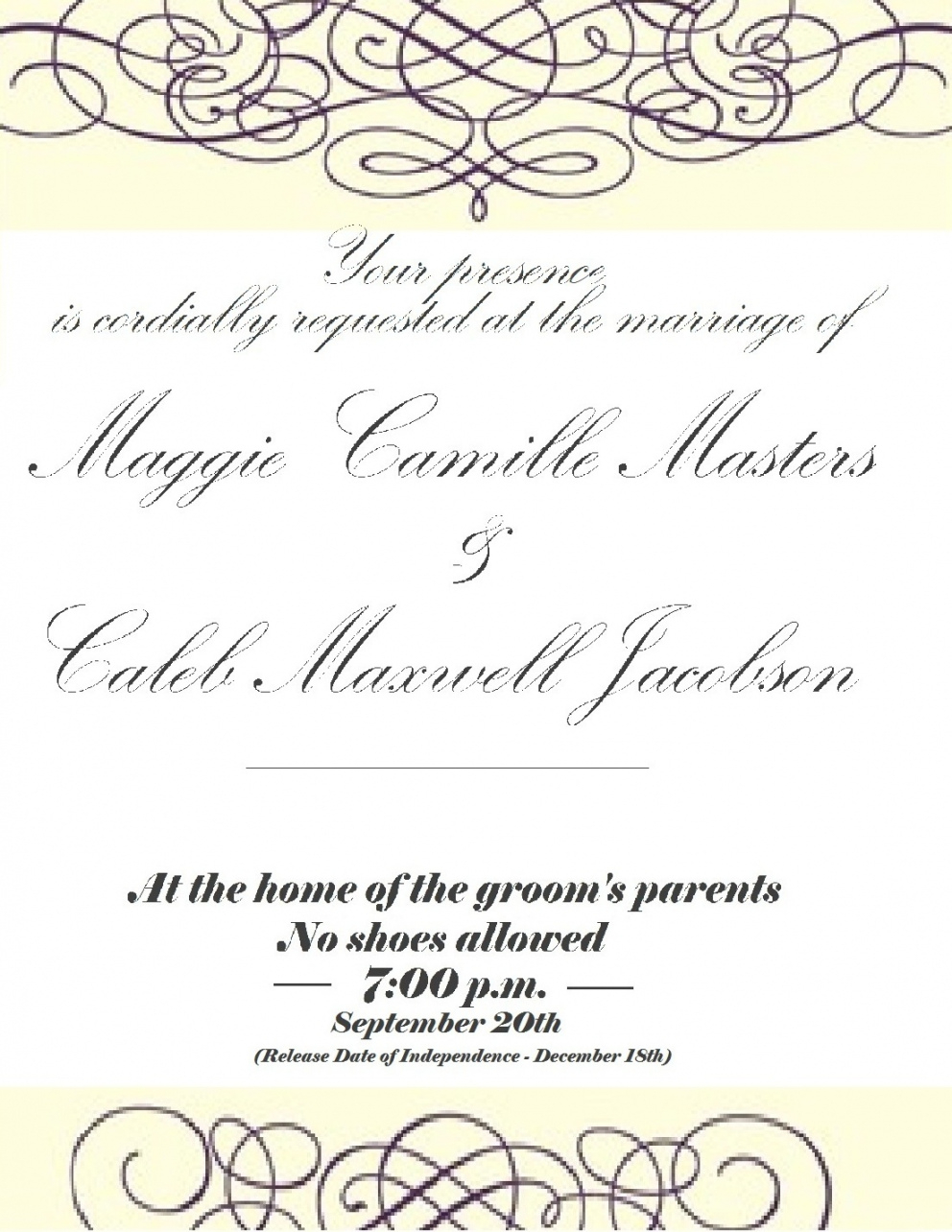 Printable You Have Been Cordially Invited Template Yourweek regarding sizing 992 X 1284
