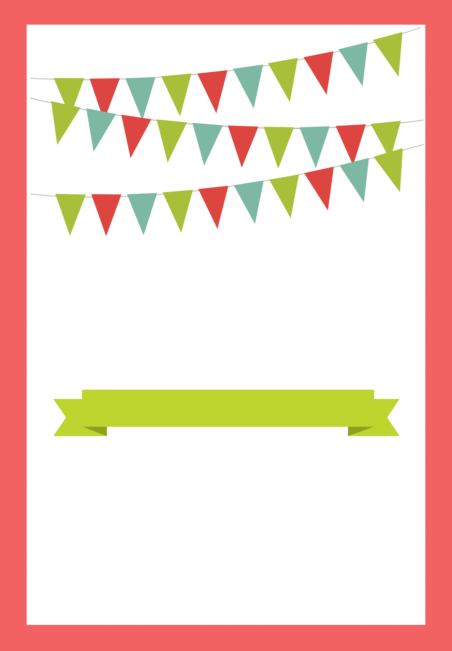 Red Pennants Free Printable Bbq Party Invitation Template in measurements 1542 X 2220