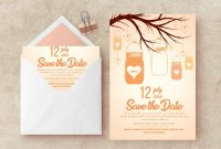 Save The Date Invitation Templates with sizing 1158 X 772