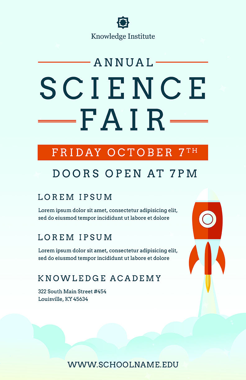 Science Fair Flyer Template Psd Docx The Flyer Press with regard to dimensions 792 X 1224