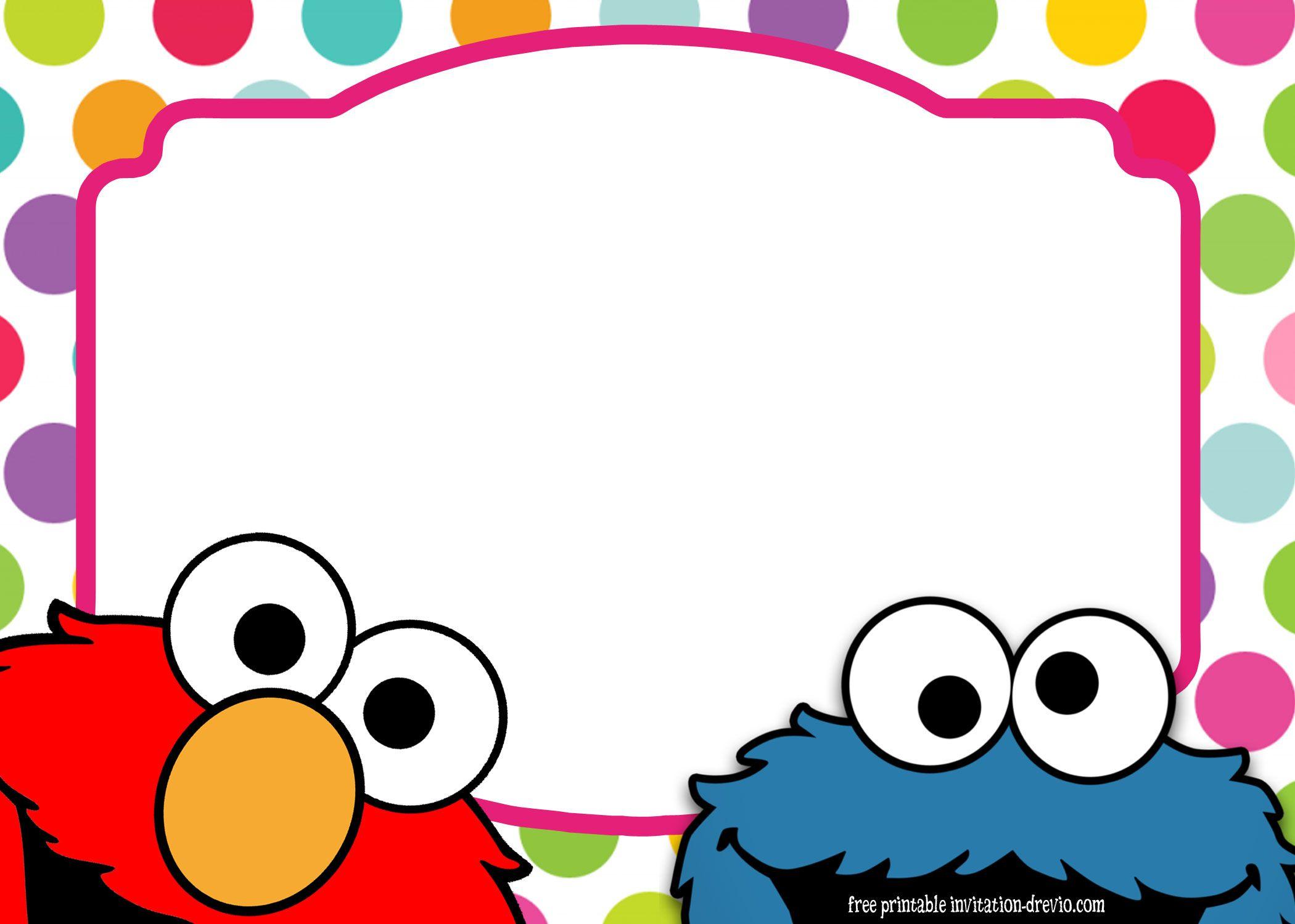 Sesame Street Twin Birthday Invitation Birthday Madness Elmo regarding size 2100 X 1500