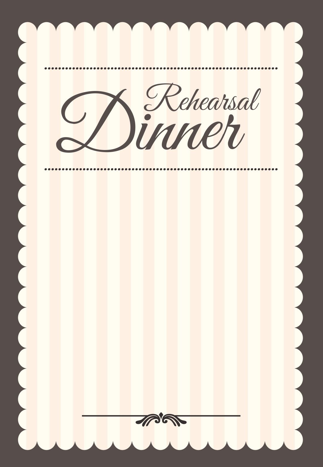 Stamped Rehearsal Dinner Free Printable Rehearsal Dinner Party pertaining to sizing 1080 X 1560