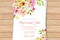 This Would Be Great With Different Colors Free Pdf Wedding regarding dimensions 998 X 1024