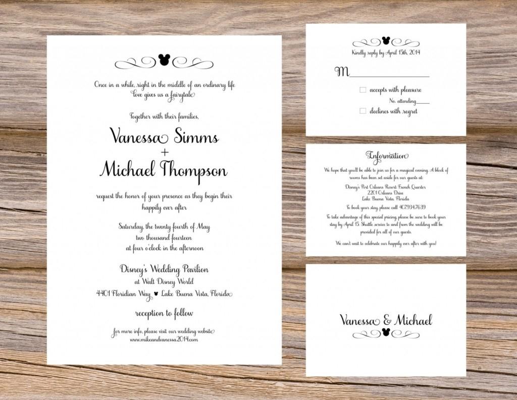 Wedding Invitation Insert Ideas Inserts For Wedding Invites in size 1024 X 791